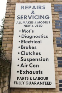 car servicing south east london